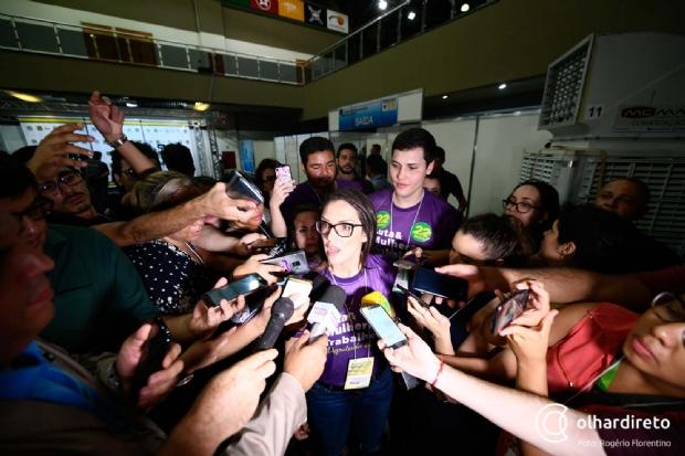 Janaína Riva é a deputada mais bem votada de MT