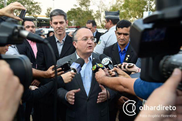 Pedro Taques avalia que Mato Grosso estaria o caos se não houvesse reforço, nas forças de segurança