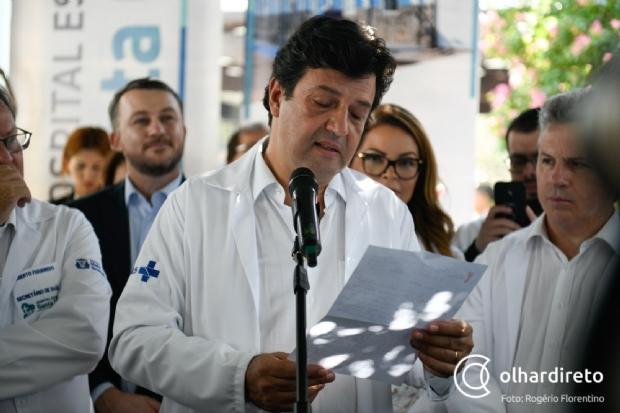 Ministro da Saúde contraria Bolsonaro: se esse vírus não gostasse de calor, Cuiabá estaria bem