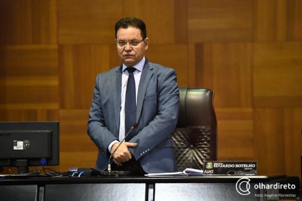 """Filiado ao DEM e fiel a Taques, Botelho pede """"cessar fogo"""" entre governador e Mendes"""