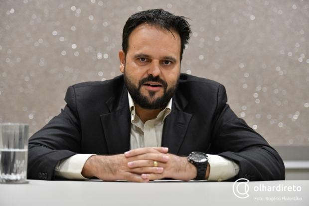 Eleito pelo PSL, Delegado Claudinei faz parte do Bloco Resistência na AL