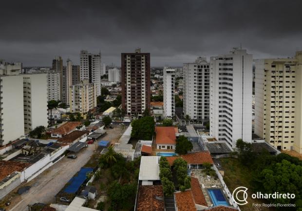 CPTEC emite alerta de tempestade de raios e vendaval em Cuiabá e 138 municípios