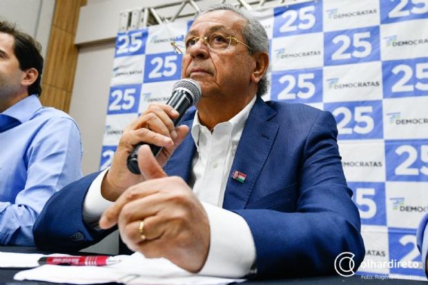 Jayme diz que vice de Mauro e segunda vaga para Senado serão anunciados em 48h