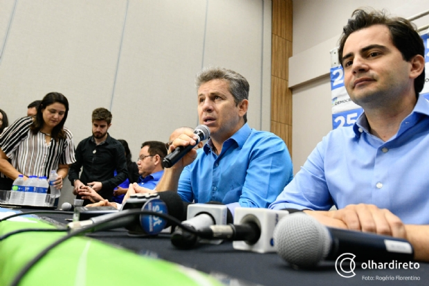 Mauro garante recursos para chapas proporcionais do MDB e diz que Bezerra o surpreendeu