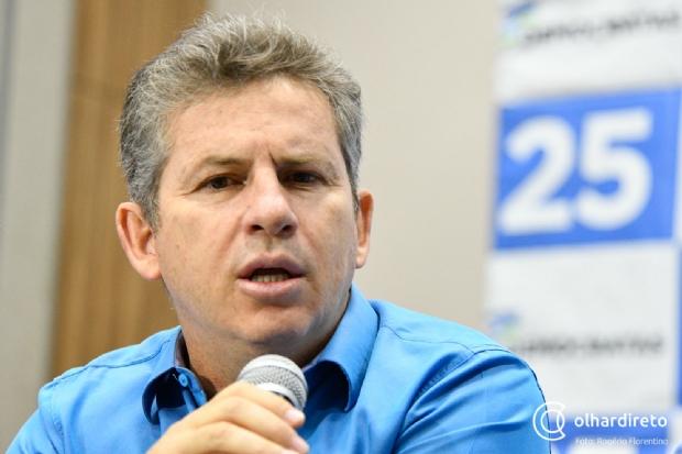 Mendes diz ter sentimento de culpa por situação de MT e que decepção será motivação para vencer Taques