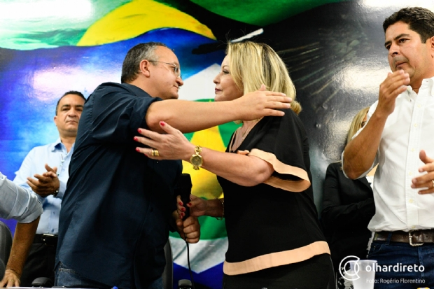 Selma nega constrangimento em apoiar Taques após mandar prender ex-secretário tucano