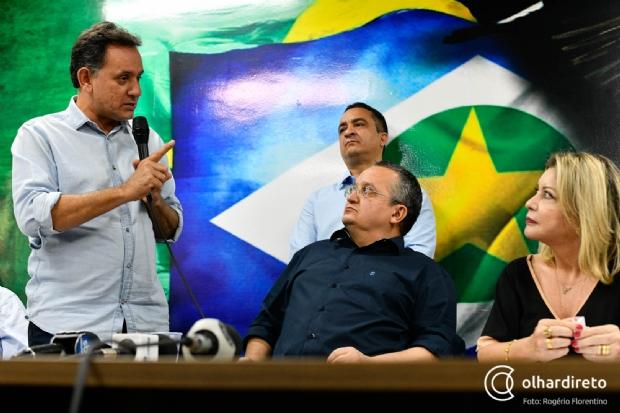 Leitão cita experiência e defende maior tempo de TV que Selma por força do partido; reunião marcada