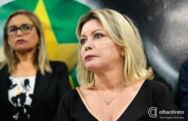 Selma se mostra incomodada com PSL e diz que não é Bolsonaro 'até debaixo d'água'