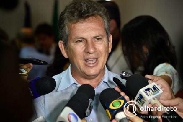 Mauro afirma que Estado devia R$ 25 milhões à Prefeitura de Cuiabá quando deixou mandato