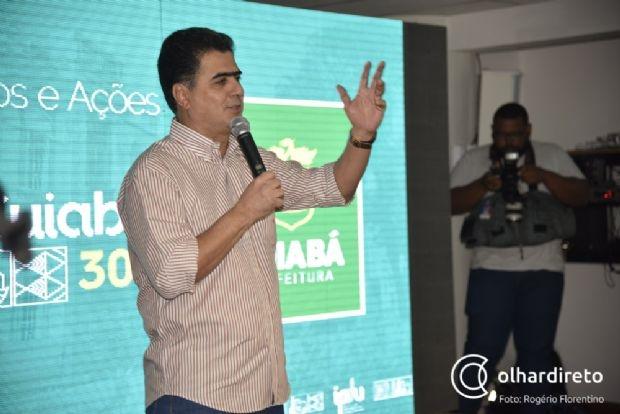 Prefeito defende MDB com Fagundes e aproveita agenda em Brasília para discutir política