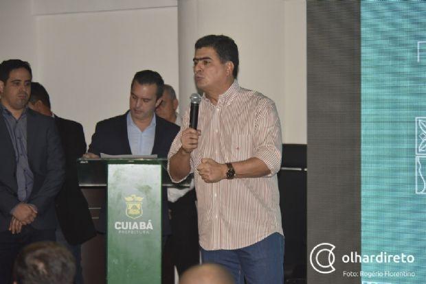 Emanuel Pinheiro diz que irá se manter neutro em relação ao apoio do MDB a Mauro Mendes