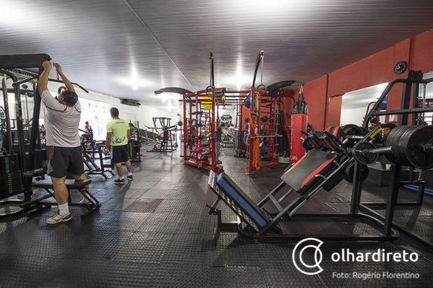 Imagem da academia AFC, referência em musculação em Cuiabá