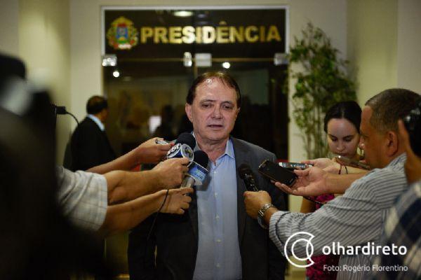 Antônio Joaquim diz que contribuição previdenciária está em dia e entra com mandado de segurança contra Taques