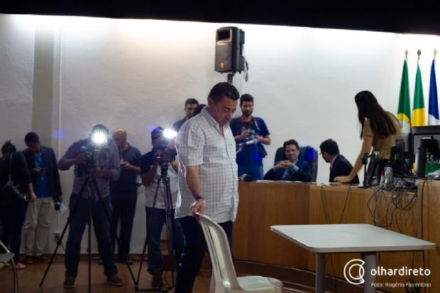 Deputado Mauro Savi foi preso ontem pelo Gaeco