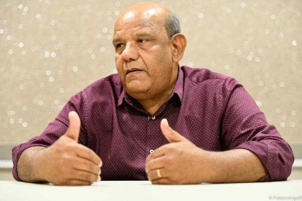 Candidato ao Senado, Aladir Leite defende alteração da lei Kandir e critica atual governo