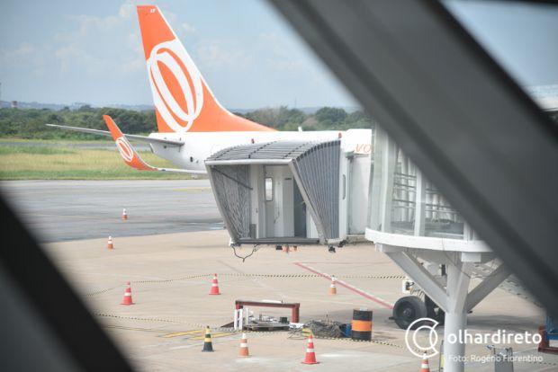 Gol solicita voos diretos de Cuiabá para Rio de Janeiro e Curitiba;  veja quando