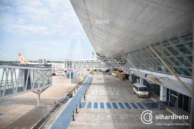 Presidente da Infraero crava data para entrega do aeroporto de Cuiabá que pode virar hub de transportes