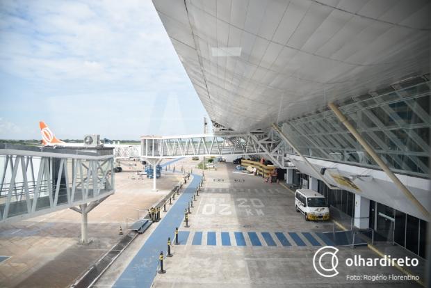 Obras em pista do Aeroporto Marechal Rondon afetam voos em Cuiabá