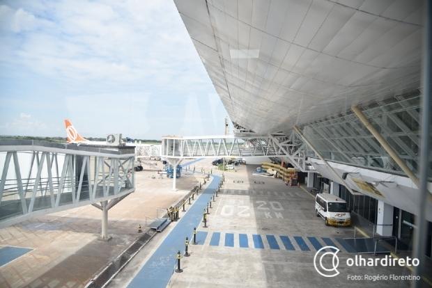 Receita Federal 'empaca' internacionalização do aeroporto de Cuiabá e pede área equivalente a 'dois apartamentos'