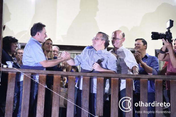 Nilson Leitão participou da costura para ingresso do governador Pedro Taques no PSDB