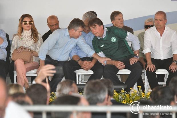 Mauro inicia embargos a desmatadores e se reúne com Bolsonaro para resolver crise ambiental