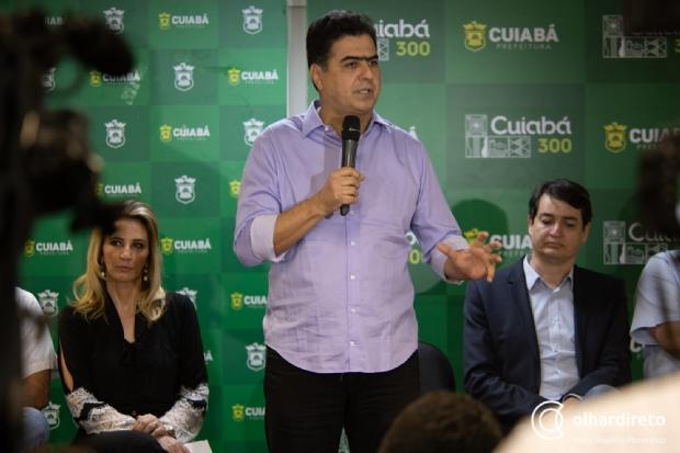 Prefeito diz que  Mendes o ataca por ficar incomodado de ter feito menos asfalto em Cuiabá