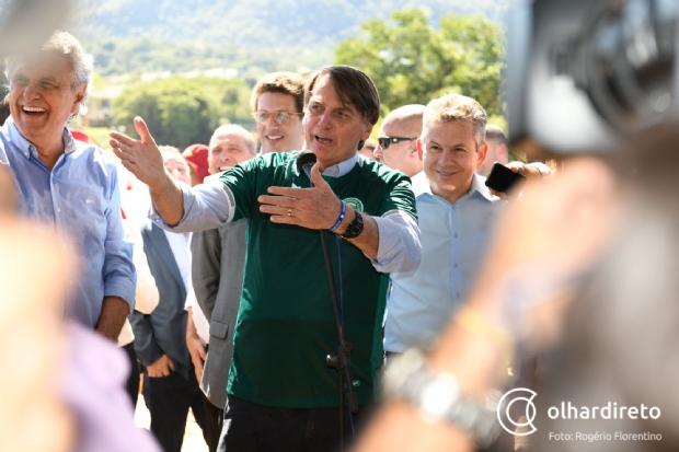 Jair Bolsonaro vem a Mato Grosso na próxima semana para entrega da BR-163