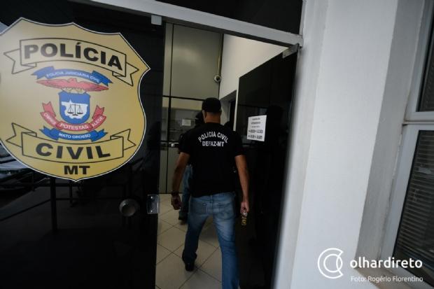 Veja lista  dos presos pela Defaz acusados de sonegar impostos em Mato Grosso