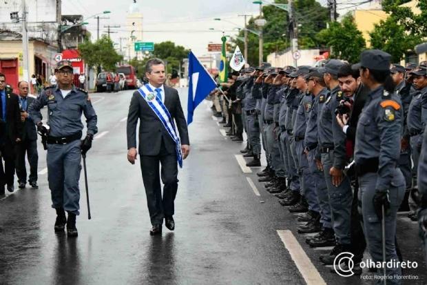 Por contato com população, Mauro Mendes pede flexibilização em segurança pessoal