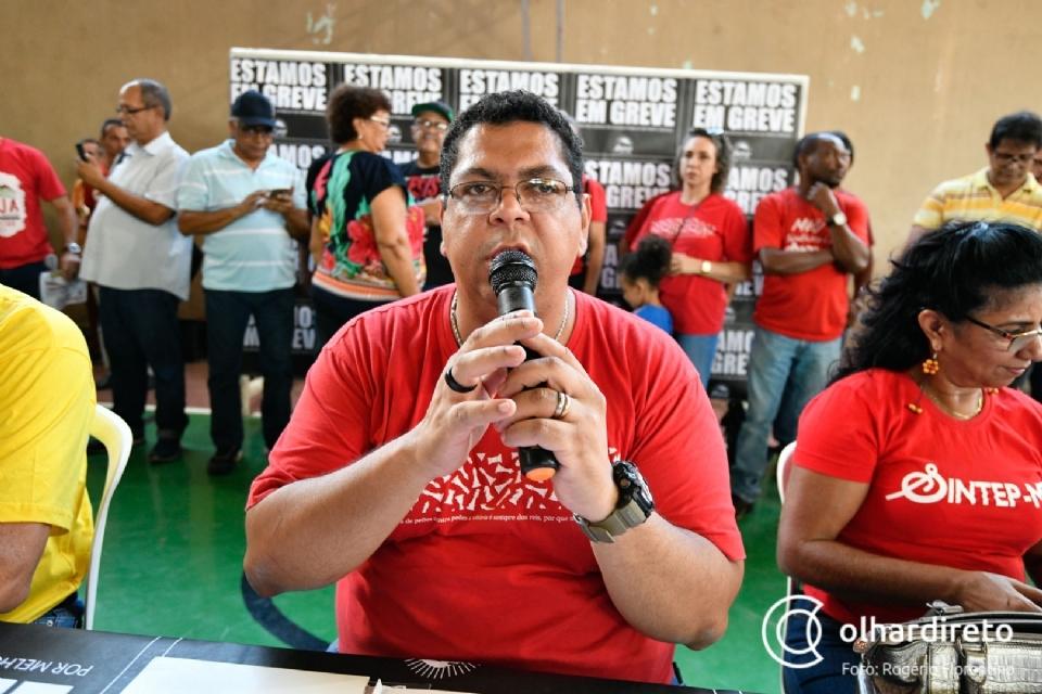 Sintep anuncia retorno presencial às aulas mas mantém estado de greve e agenda de mobilizações