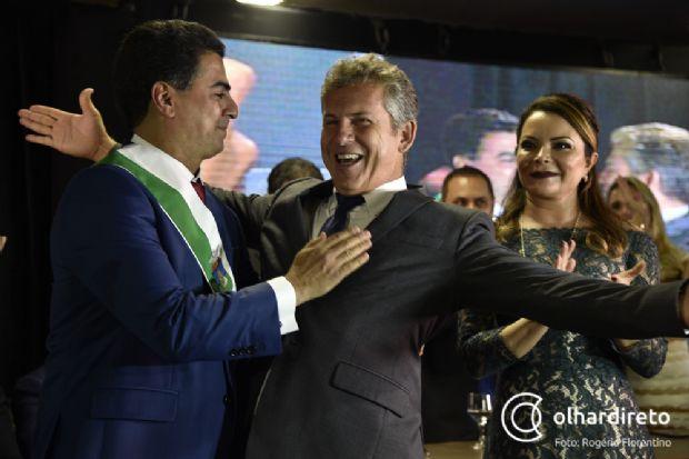 Menos de três meses após a posse do prefeito Emanuel Pinheiro, o ex Mauro Mendes já não sorri tão facilmente