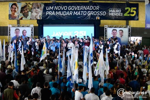 Veja lista   de candidatos a deputado estadual e federal registrados em ata pela coligação de Mauro Mendes