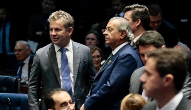 Mauro acompanhou leitura de pedido de empréstimo no Senado e aguarda aprovação