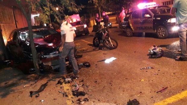 Motorista embriagado atropela e mata motociclista cuiabano no interior de MT