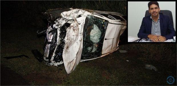 Após acidente com 4 mortes, secretário tem melhora e deve ir para quarto em Santa Casa