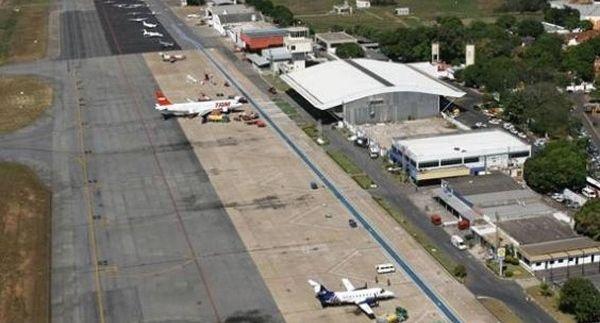 Segundo FGV, aeroporto de Cuiabá precisa de investimentos na pista, pátio e terminal de passageiros