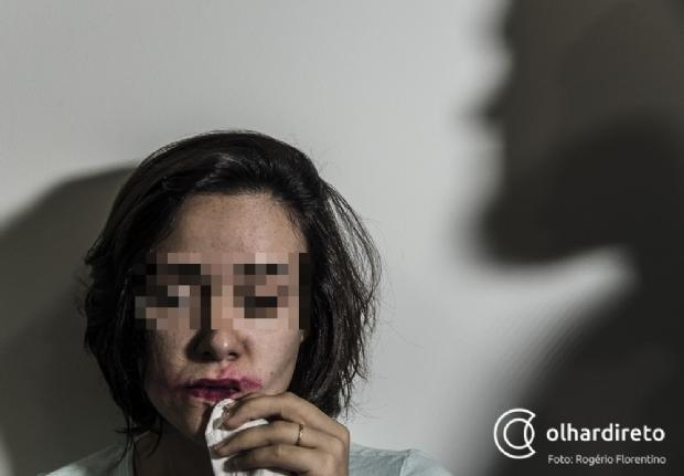 Soldado da PM é preso por dar tapa no rosto da esposa em Cuiabá