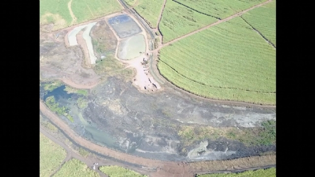Após poluição em rio de Jaciara, usina repara estruturas e afirma que águas voltaram ao normal