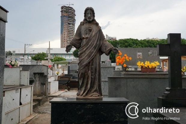 Finados terá programação especial nos três maiores cemitérios da capital; 45 mil pessoas esperadas