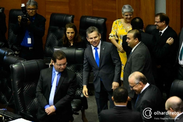 Mauro coloca adjuntos no comando de secretarias para aprovar projetos na ALMT