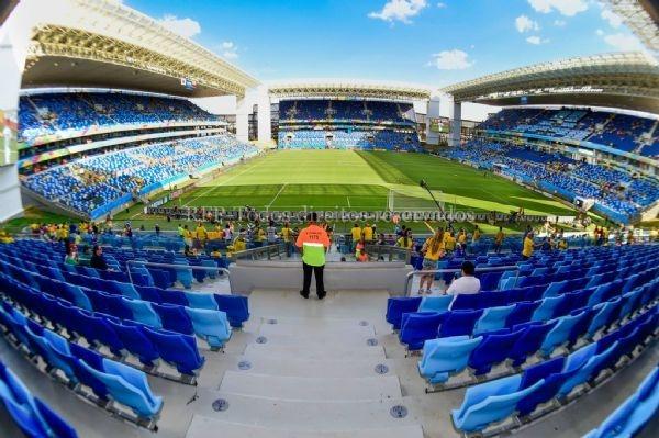 Futebol com público