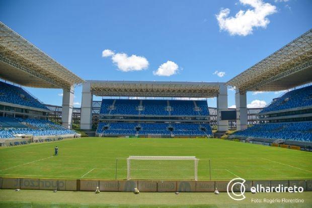Arena Pantanal terá escolinha de futebol gratuita para pessoas de sete a 17 anos
