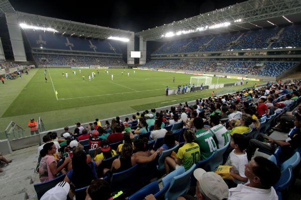 Arena Pantanal receberá jogos do Mato-grossense e da Copa Verde no próximo domingo