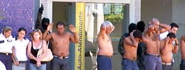 Polícia Militar mata cinco bandidos que assaltaram o Banco do Brasil