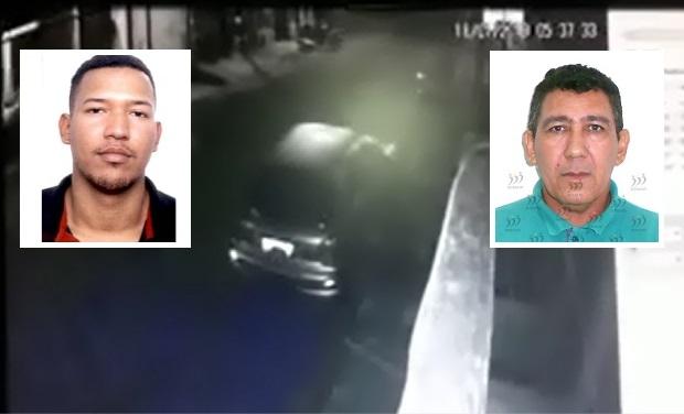 Polícia divulga fotos de executor e 'agenciador' envolvidos em morte de comerciante; esposa encomendou