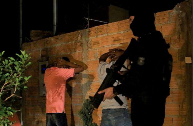 Operação Brasil Central reúne policiais de Rondônia e Goiás para combater crimes em MT