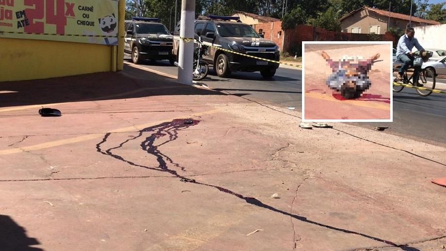 Morre criminoso baleado na cabeça por policial penal em tentativa de assalto a loja de materiais para construção