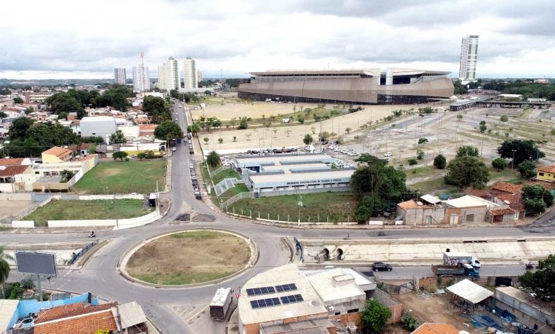 Entorno da Arena Pantanal ficará fechado durante os jogos da Copa América