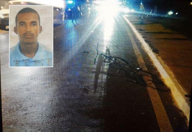Ciclista morre após ser atropelado por Gol conduzido por motorista com CNH vencida