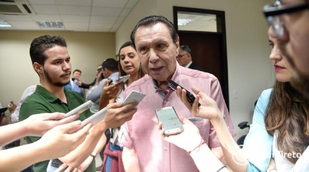 Em reunião com Mauro Mendes, Bezerra garante MDB na chapa do DEM